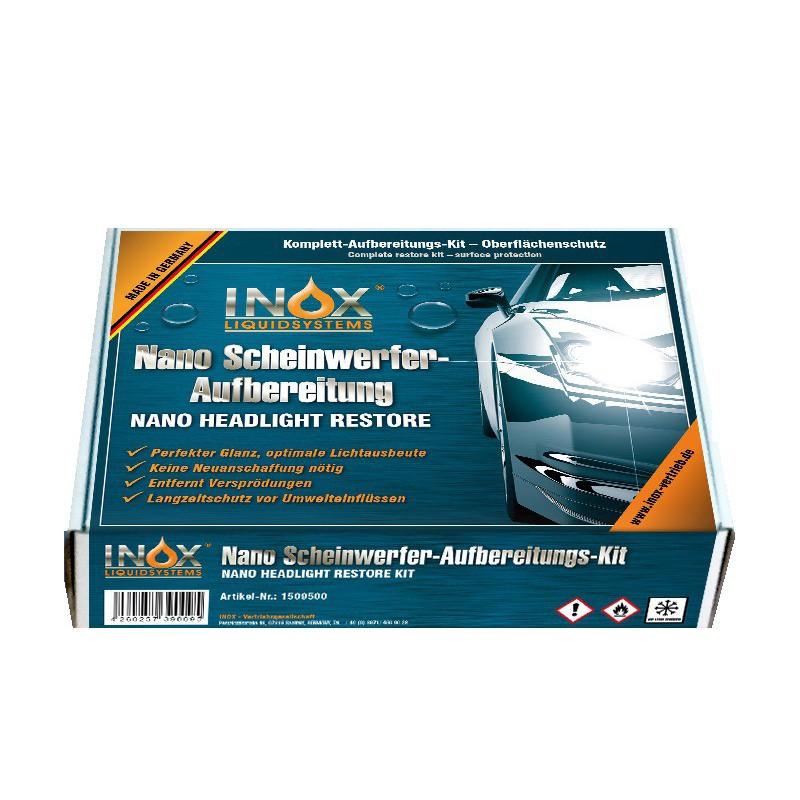INOX Schwinwerfer Aufbereitsungs set